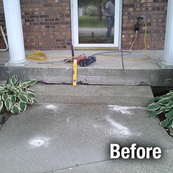 Concrete Step Repair Cincinnati Step Repair Contractor